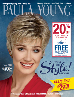 paula young online wigs